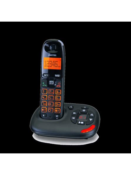 Téléphone répondeur sans fil à forte amplification 30/80 dB Vita DC 50071