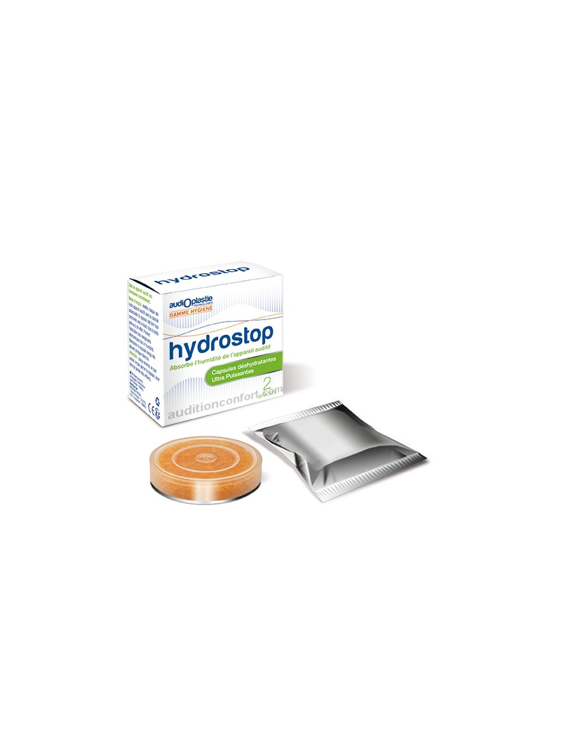 Hydrostop: Capsules déshydratantes ultra puissantes pour appareil auditif