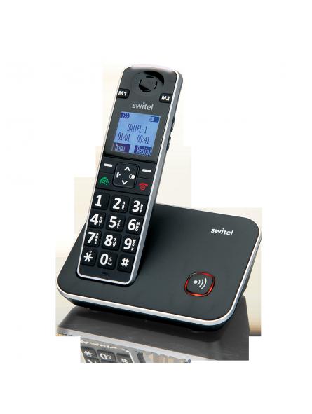 Téléphone sans fil à très forte amplification 35/80 dB Vita+ D7000