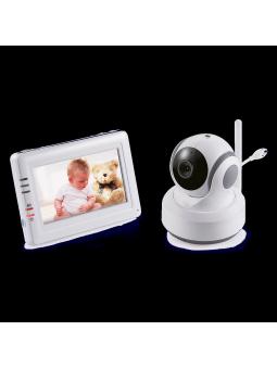 Babyphone vidéo avec moniteur à écran tactile Switel BCF 989