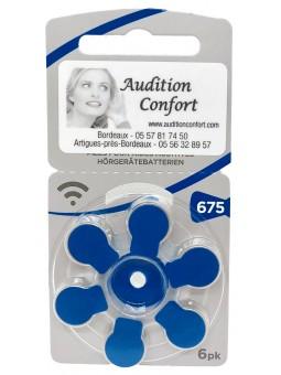 piles auditives pour appareils auditifs Rayovac 675