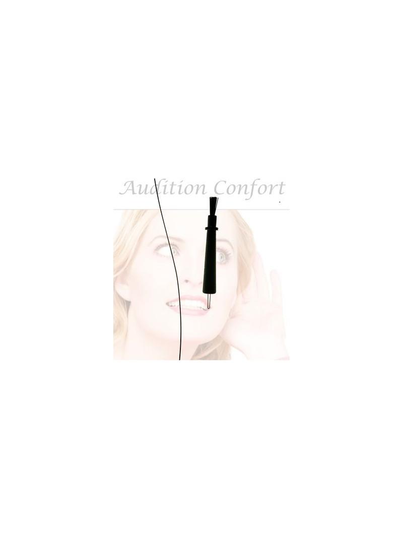 Kit de nettoyage pour contour d'oreille à tube fin