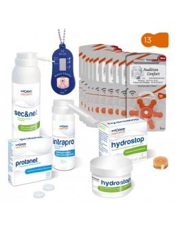 pack de piles 13 et produits pour appareils de type contour d'oreille à embout auriculaire