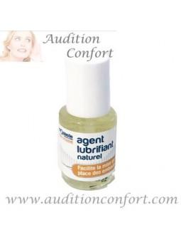 agent naturel lubrifiant Audioplastie pour appareils auditifs