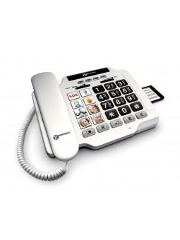 téléphone fixe amplifié pour sénior