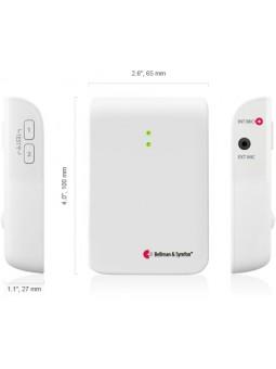 détecteur de sonnette de porte  pour sourds et malentendants