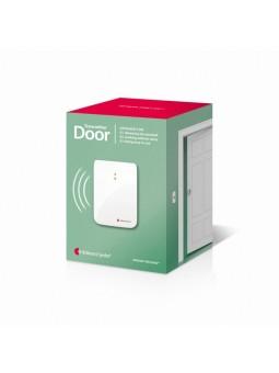 détecteur sonnette porte à flashs lumineux pour sourds et malentendants