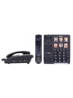 Téléphone pour malentendant et personnes âgées