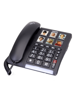 Téléphone à forte amplification 40/90 dB TF 540