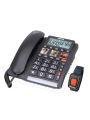 Téléphone filaire 40/90 dB avec bracelet d'urgence TF 560 ALARM