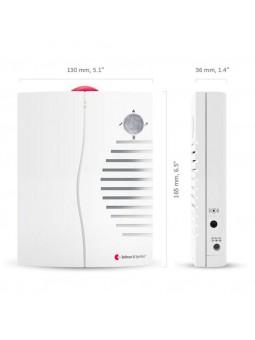 Récepteur portable à flashs lumineux et alarme sonore Visit 868 BE1450 Bellman