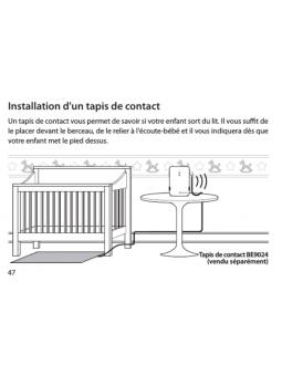 Tapis de contact pour bébé  système bellman