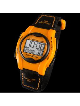 Vibralite Mini orange montre vibrante pour sourd et  malentendant