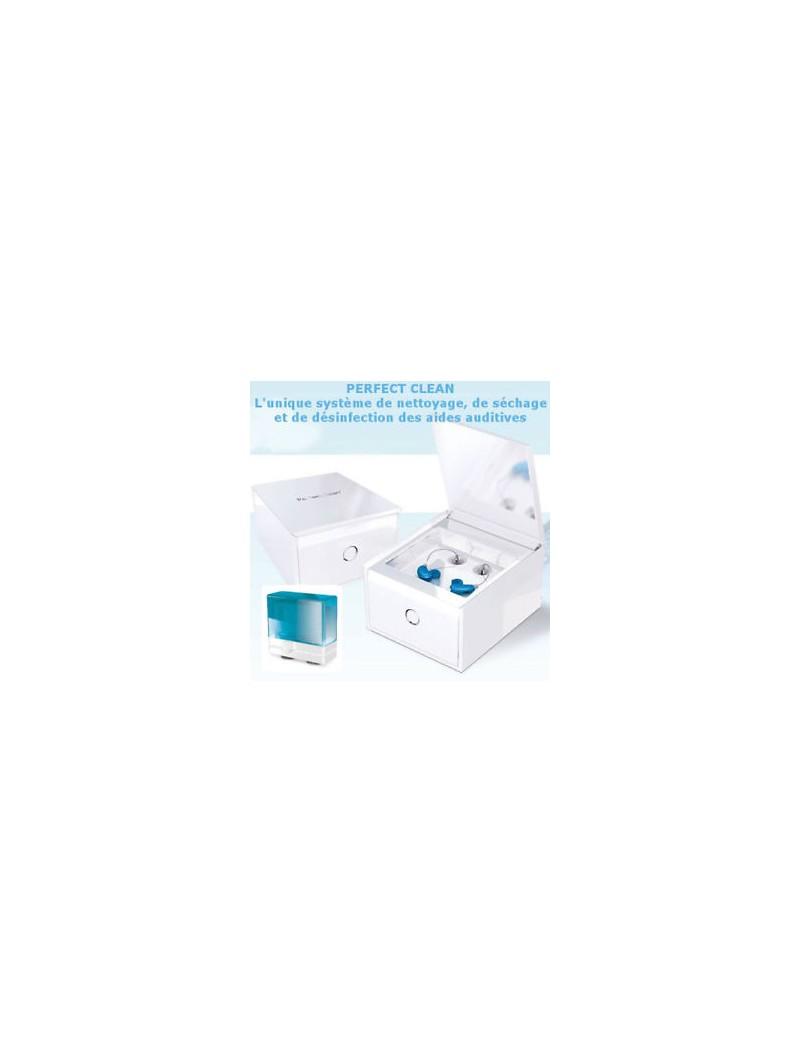 Système de nettoyage automatique pour appareil auditif Perfect Clean