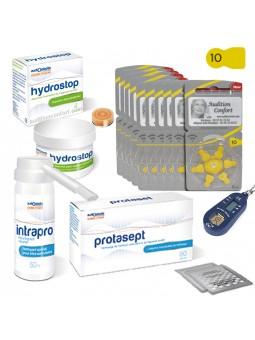 pack de piles 10 et produits pour appareils de type cintra-auriculaire