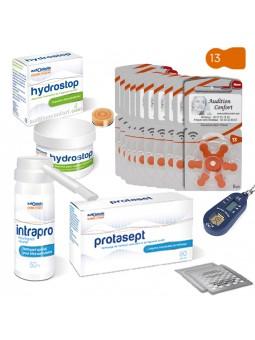 pack de piles 13 et produits pour appareils de type intra-auriculaire