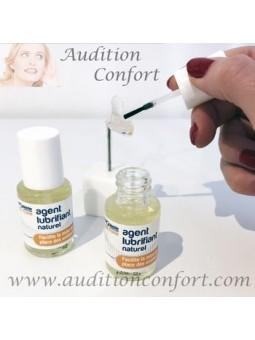 lubrifiant pour faciliter l'insertion des appareils auditifs dans le conduit