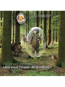 StopGUN E classique protection pour les chasseurs avec amplification