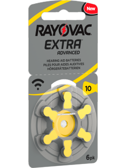 piles auditives 10 Rayovac Extra Advanced