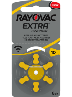 piles 10 pour appareils auditifs Rayovac Extra Advanced