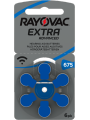 piles 675 pour appareils auditifs Rayovac Extra Advanced