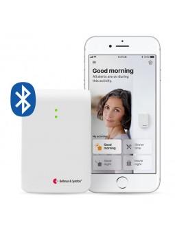 détecteur d'appel smartphone bluetooth avec flashs lumineux